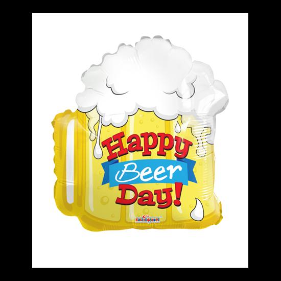 Happy Beer Day! söröskorsó fólia lufi