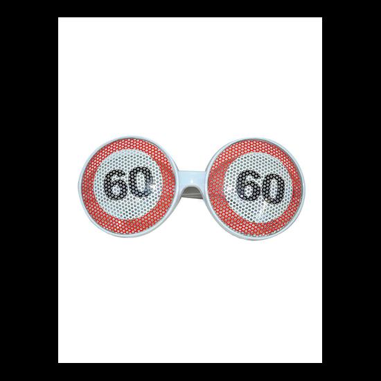 Behajtani tilos szemüveg 60. születésnapra