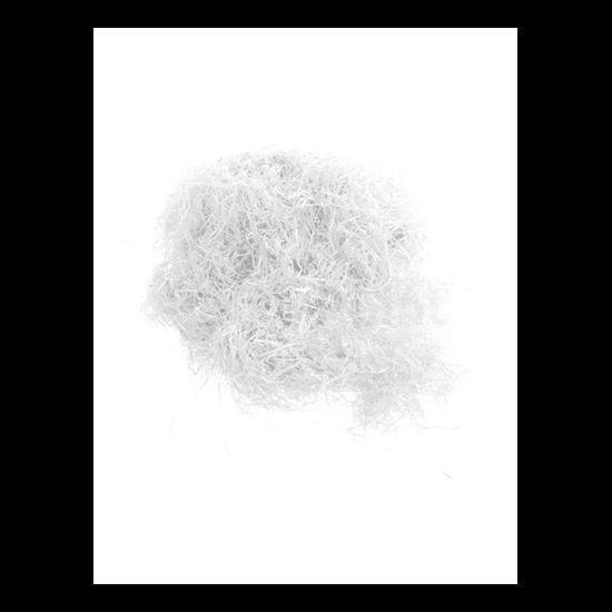 Lufiba tölthető konfetti fehér, 100gr