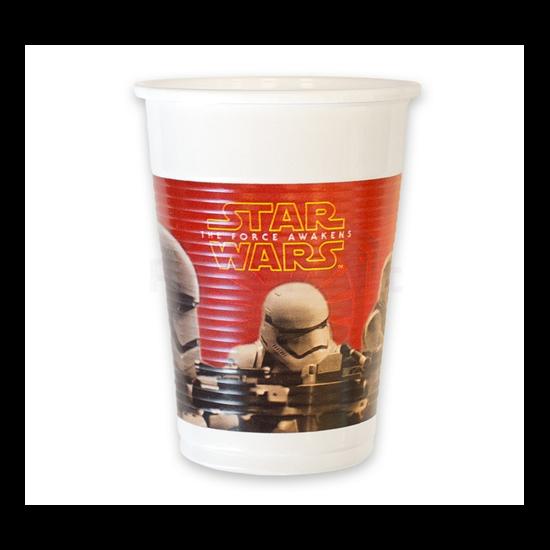 Star Wars The Force Awakens műanyag pohár 8db/cs.