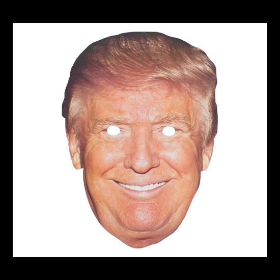 Trump papír maszk