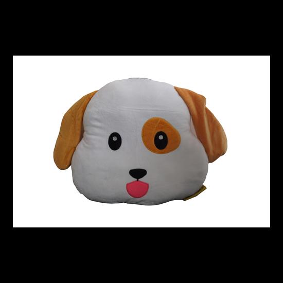 Kutya Emoji párna 32 x 32 cm