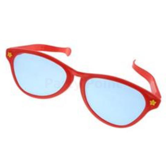 Piros szemüveg