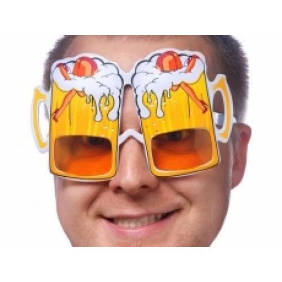 Party szemüveg sörös korsó alakú