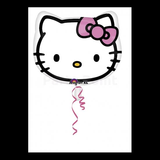 45 cm-es Hello Kitty fólia lufi