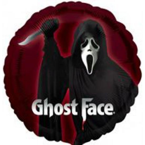 45 cm-es Ghost Face fólia lufi