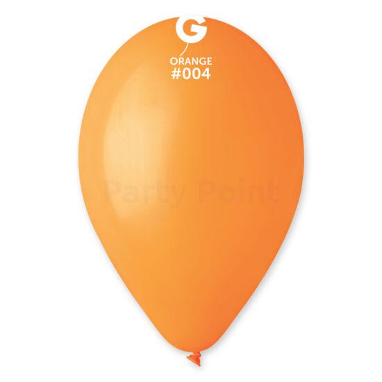 33 cm-es narancssárga léggömb 10 db/cs