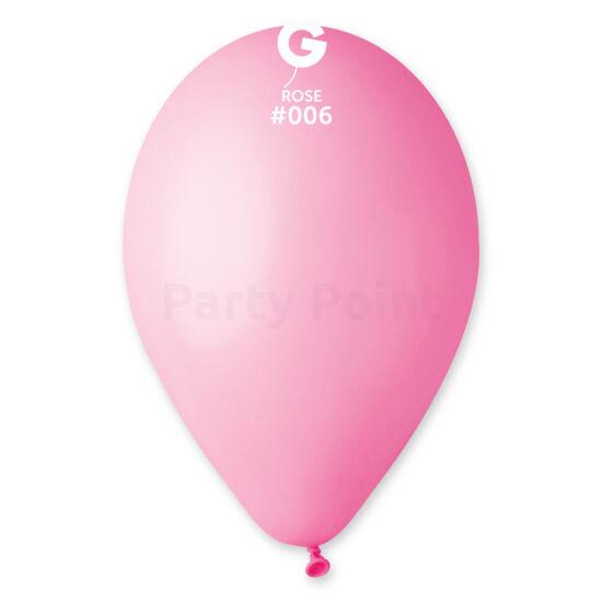 33 cm-es rózsaszín léggömb 10 db/cs
