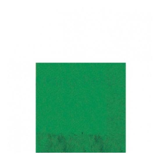 Sötétzöld koktélszalvéta 25x25 cm 20 db/cs.