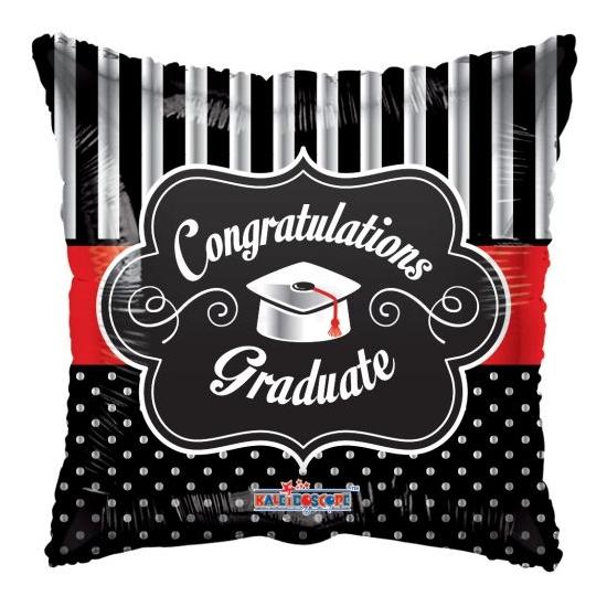 45 cm-es Congratulations Graduate fólia lufi
