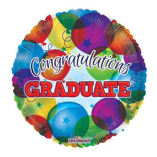 45 cm-es Congratulations Graduate lufis fólia lufi