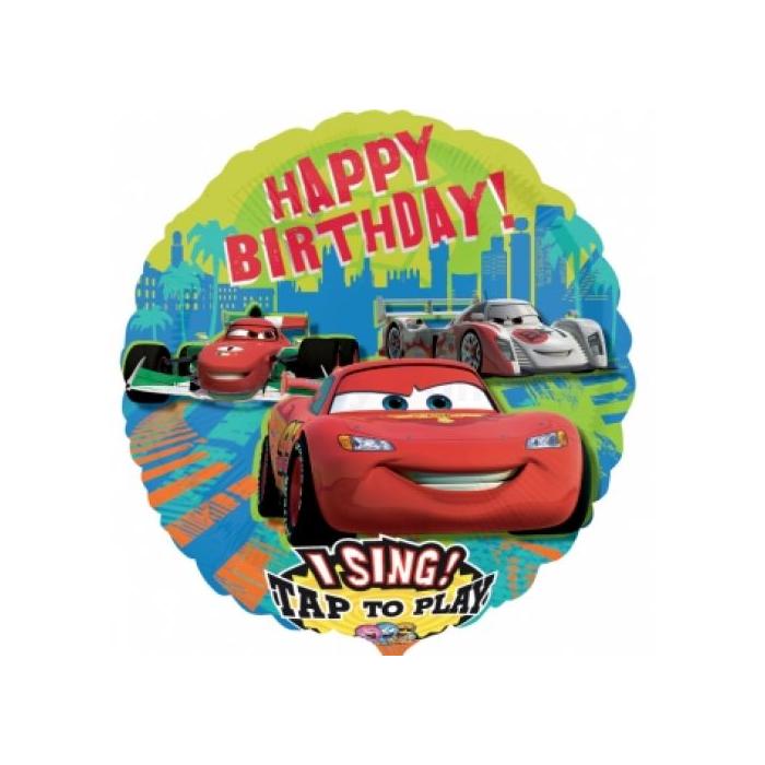 Sing-a-Tune-Zenélő Verdák Happy Birthday lufi fólia lufi