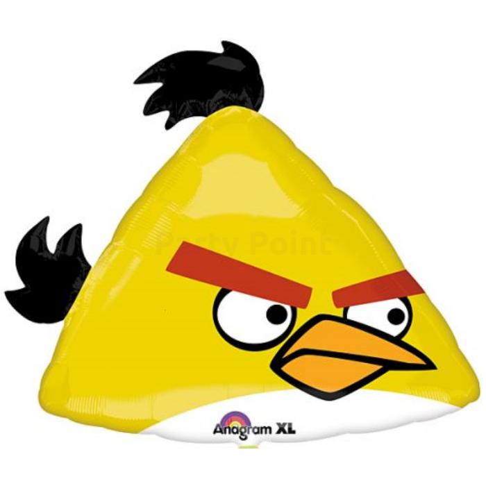 SuperShape -Angry Birds sárga madár fólia lufi