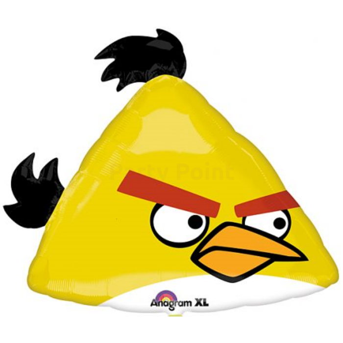 SuperShape - Angry Birds sárga madár fólia lufi