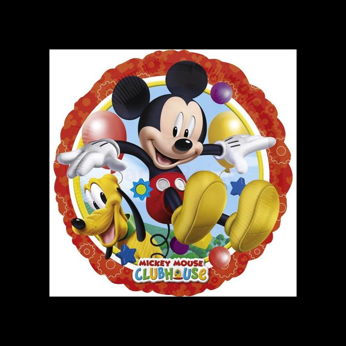 43 cm-es Mickey és Pluto fólia lufi