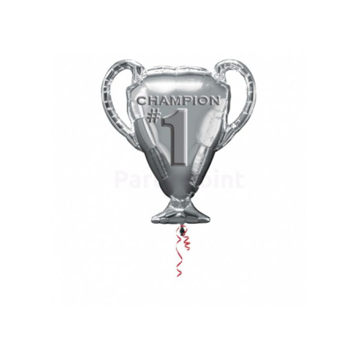 SuperShape - trófea 1. hely fólia lufi