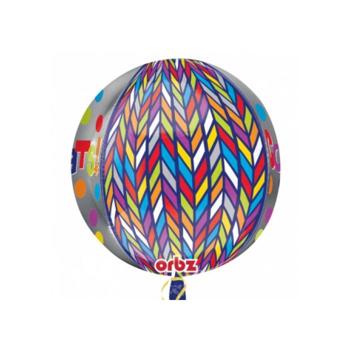 Orbz -Congrats fólia lufi, 40 cm