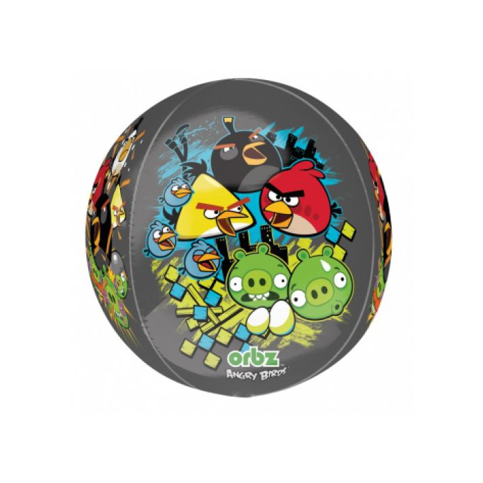 Orbz -Angry Birds fólia lufi, 40 cm -es