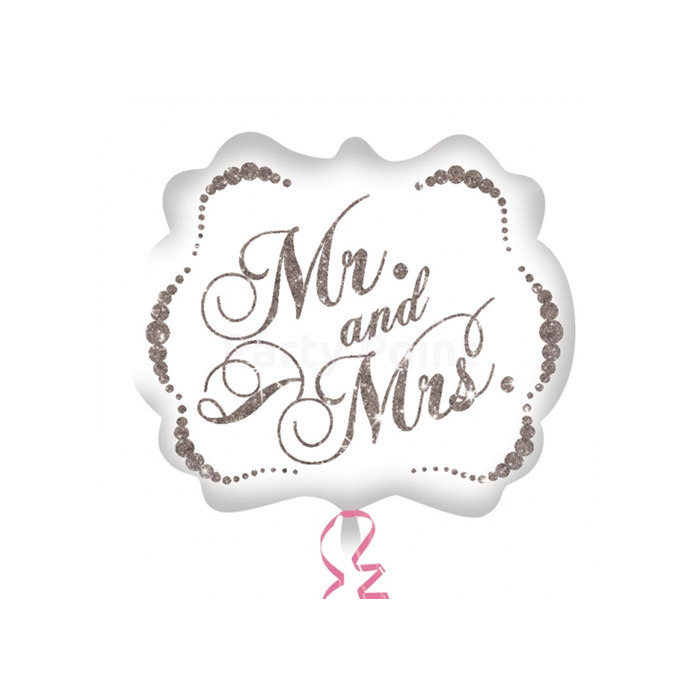 SuperShape - Mr and Mrs fólia lufi