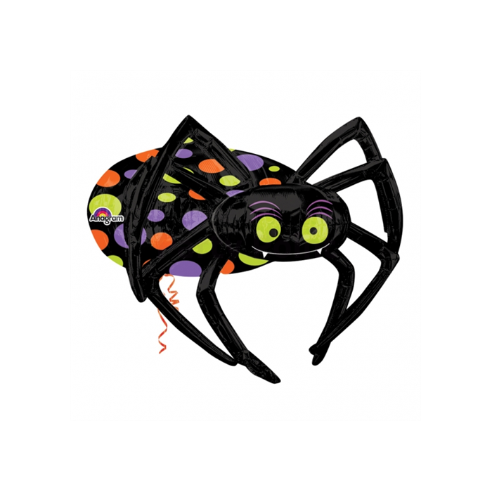 MultiBalloon - pók alakú fólia lufi