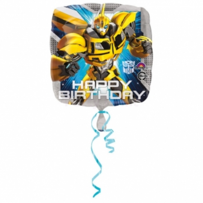 45 cm-es Transformers Happy Birthday fólia lufi