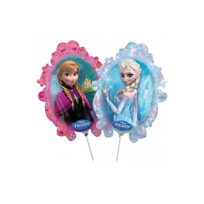 Mini -Jégvarázs fólia lufi