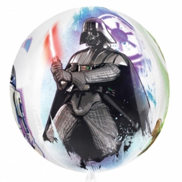 Orbz -Star Wars fólia lufi