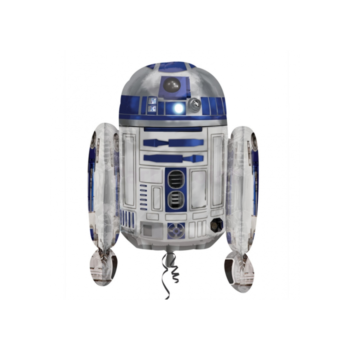 SuperShape -Star Wars R2D2 fólia lufi