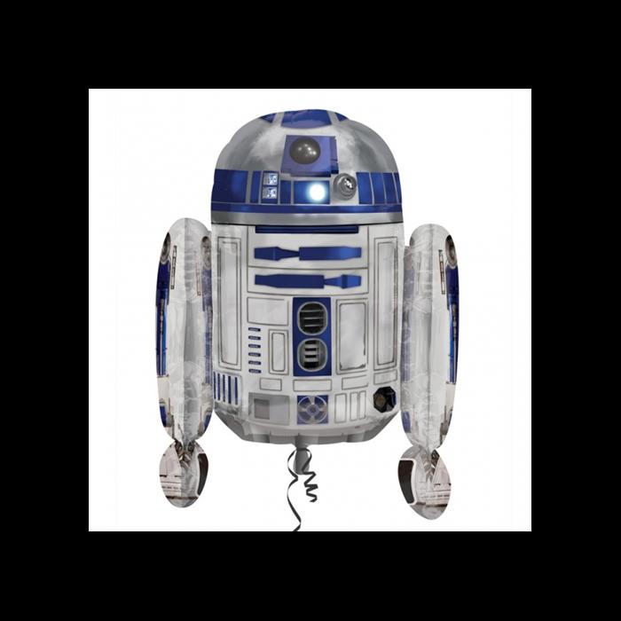 SuperShape -Star Wars R2D2 fólia lufi