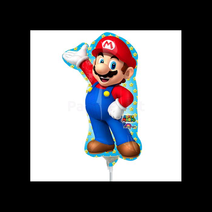 Mini - Mario fólia lufi