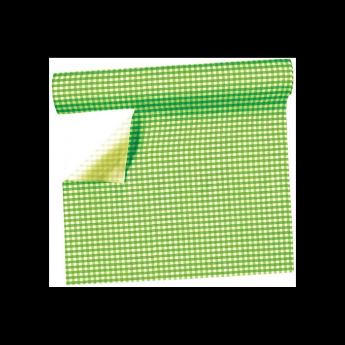 Zöld asztalterítő 40 cm x 3,6 m