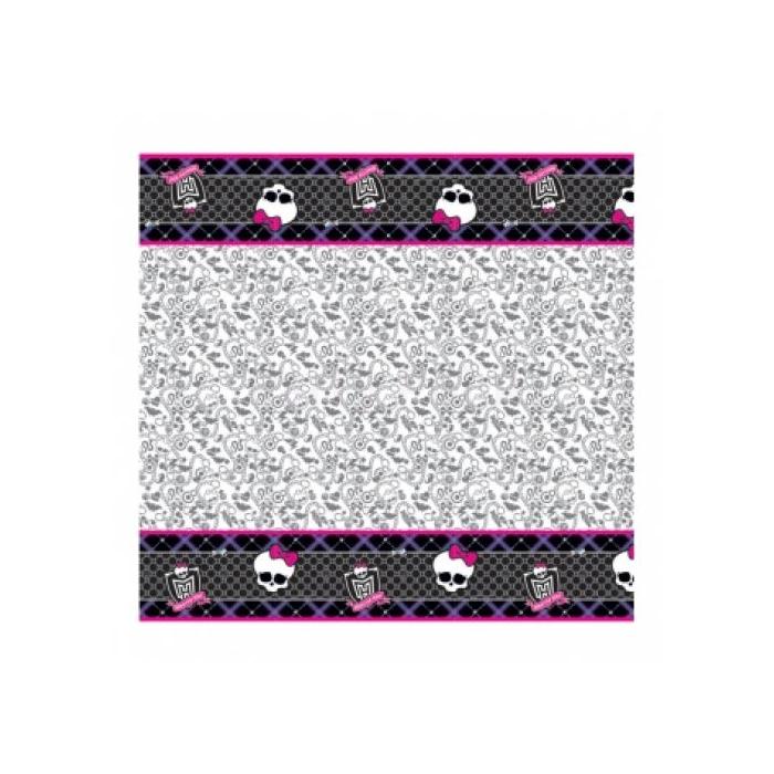 Monster High műanyag asztalterítő 120x180 cm