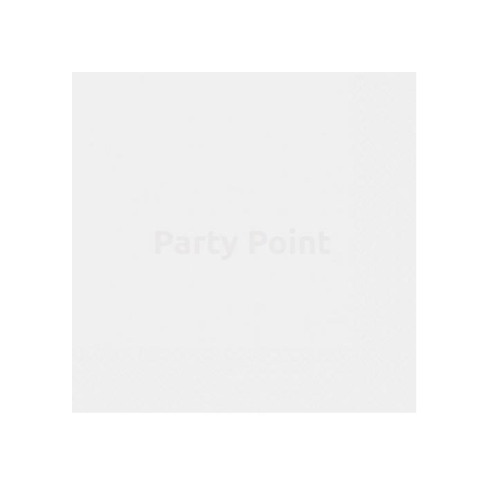 Fehér szalvéta 33 x 33 cm kétrétegű 50 db/cs