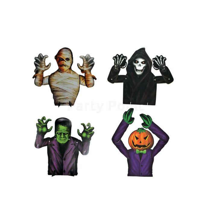 Halloween - Függő dekoráció 40 cm 4 féle