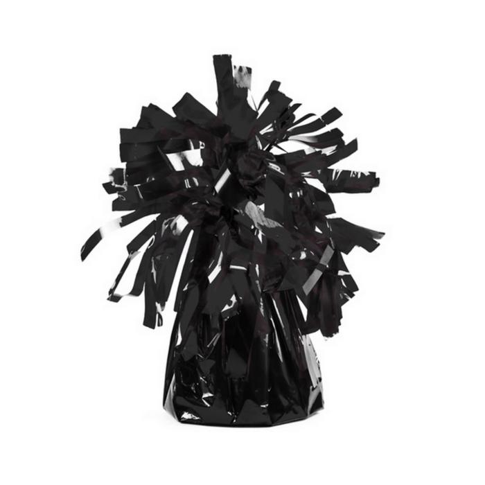 Fekete fóliás lufisúly 11 cm