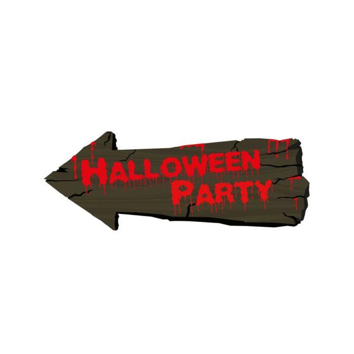 """Halloween - Irányító tábla """"Halloween party"""""""
