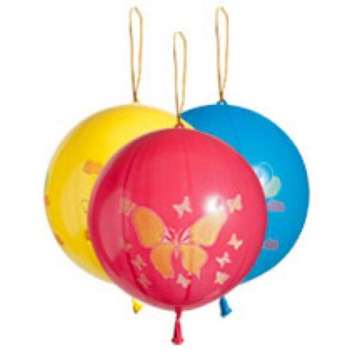 Punchball mintás gumi léggömb 3 db/cs.