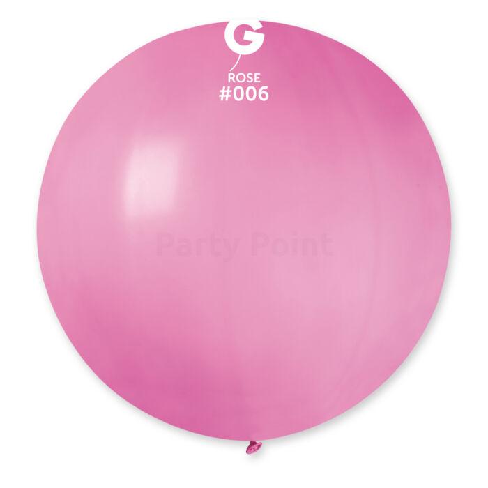 70 cm-es rózsaszín gumi léggömb