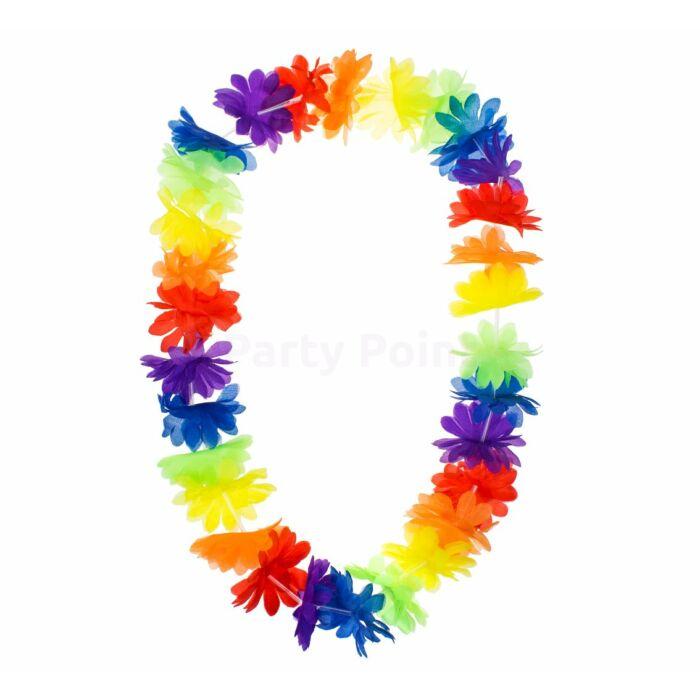 Hawaii színes nyakfüzér