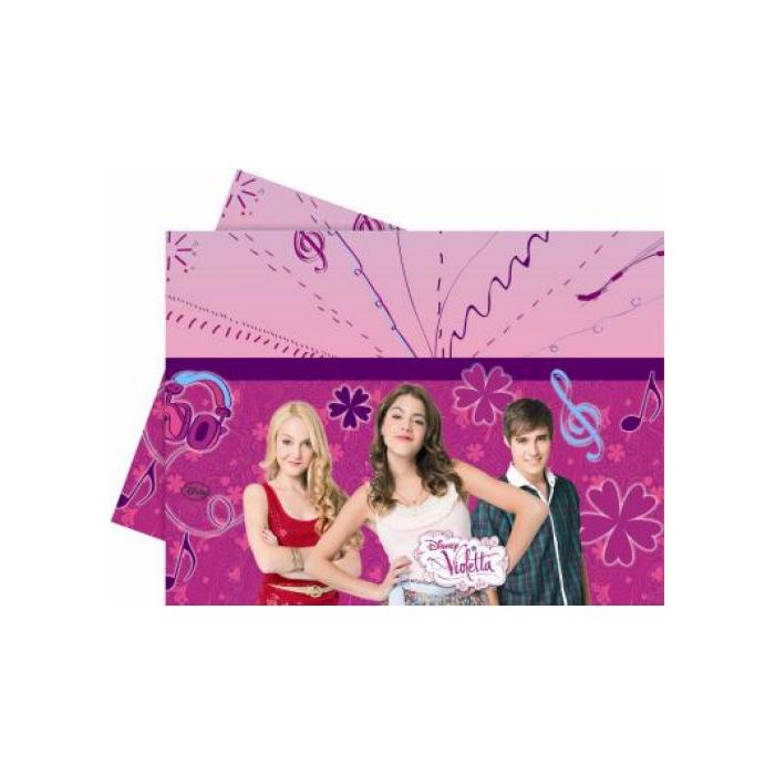 Violetta műanyag asztalterítő, 120 x 180 cm