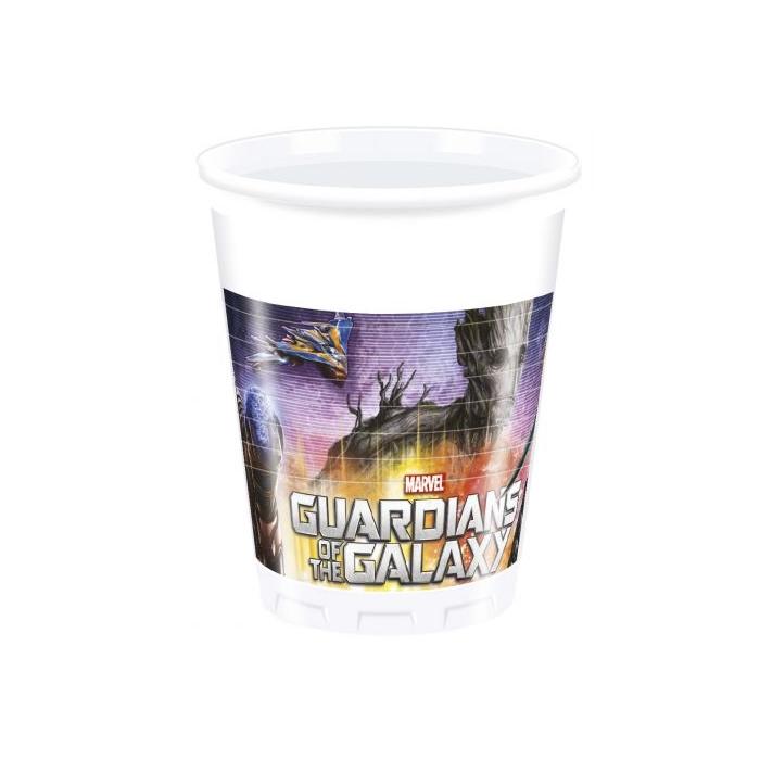 Galaxis őrzői műanyag pohár, 200 ml - 8 db