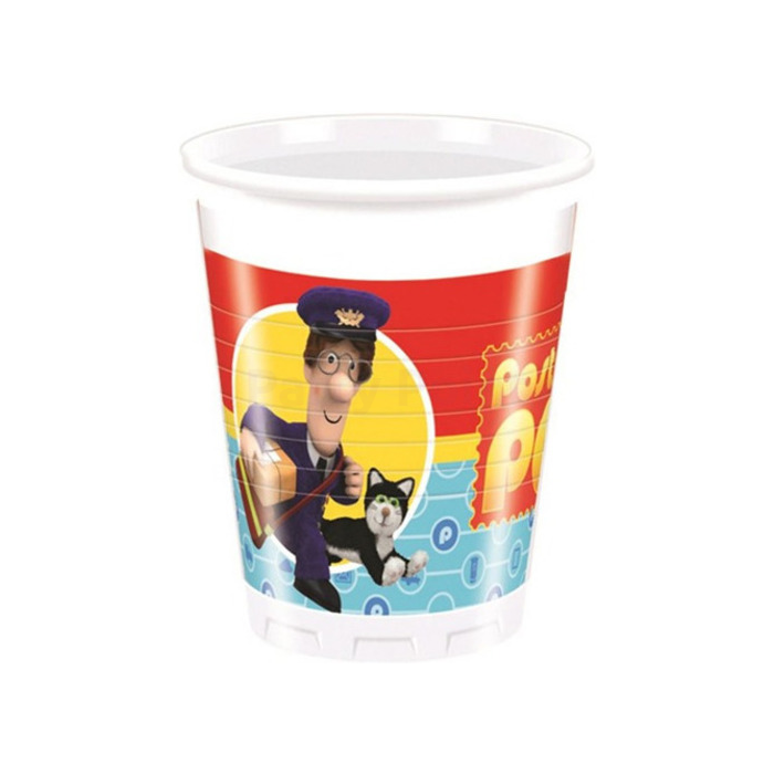 Postman Pat műanyag pohár 200 ml 8 db/cs