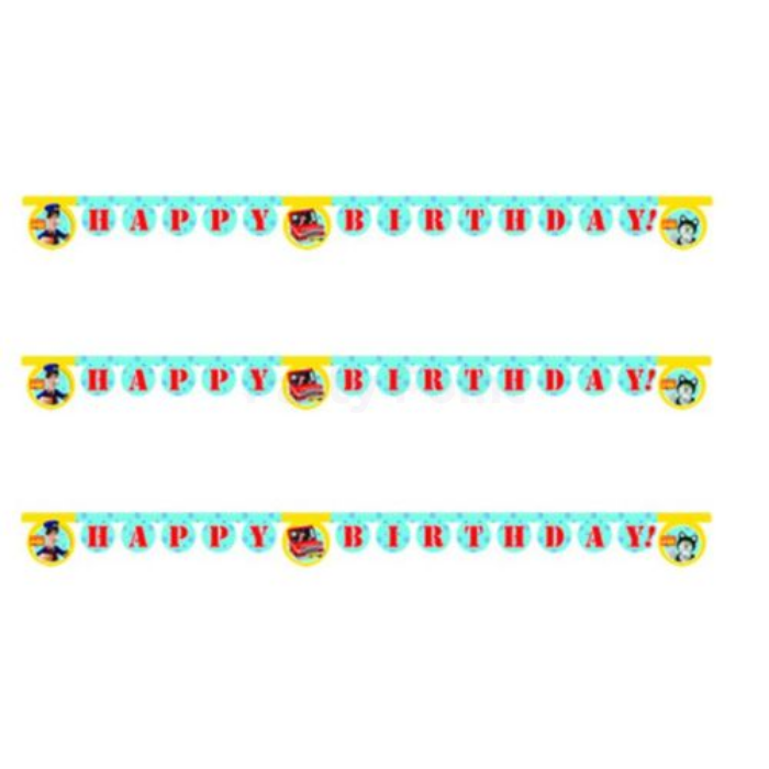 Postman Pat Happy Birthday felirat