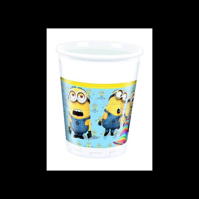 Minion műanyag pohár 200 ml 8 db/cs