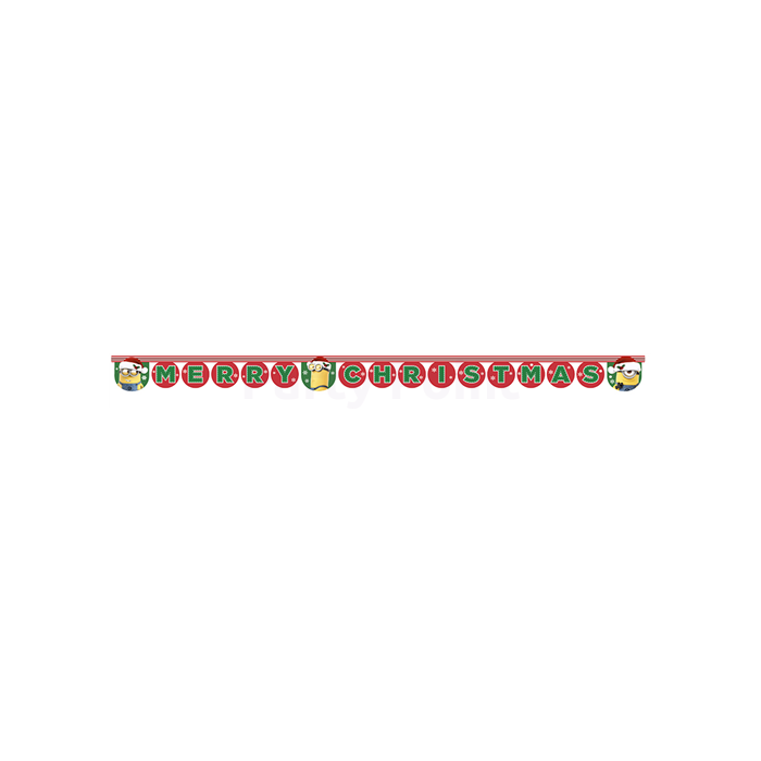Minion Merry Christmas felirat