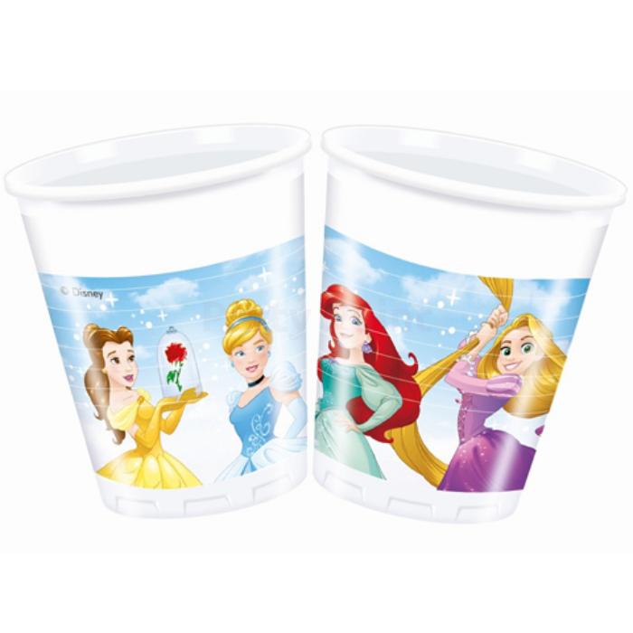 Princess műanyag pohár 200 ml, 8 db/cs