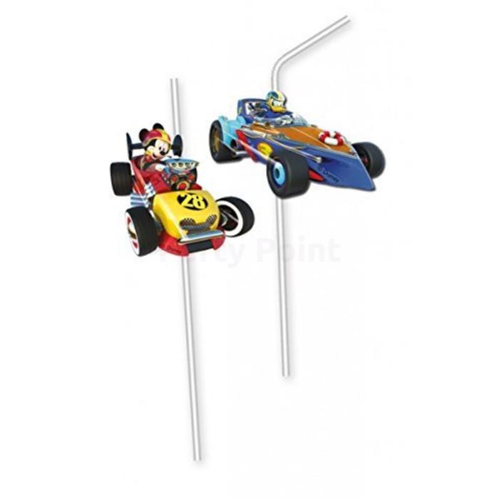 Mickey Junior Roadster szívószál 6 db/cs
