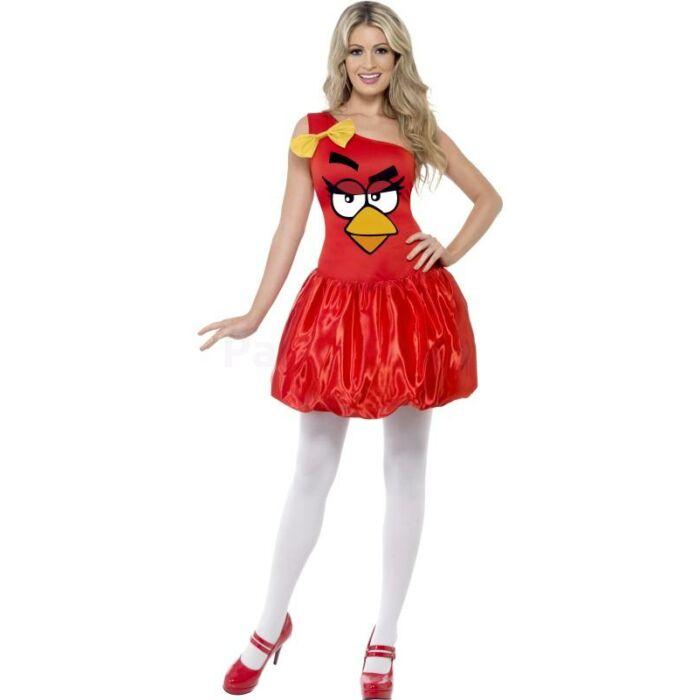 Piros Angry Birds jelmez hölgyeknek L-es meret