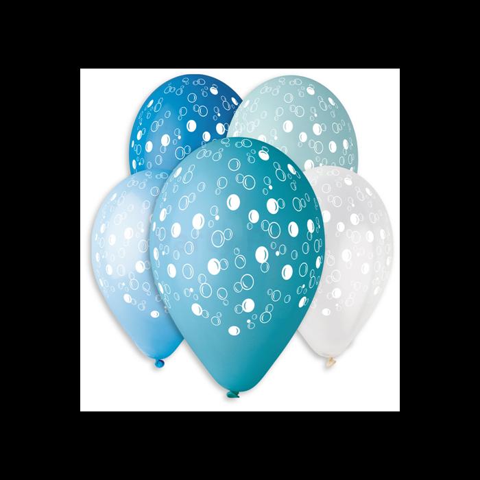 30 cm-es buborékos gumi léggömb 10 db/cs.