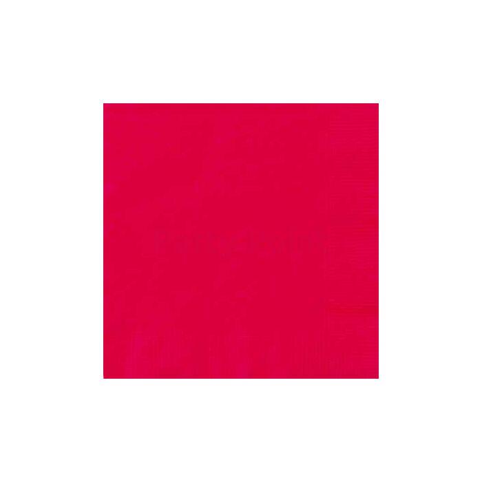 Piros szalvéta 20 db/cs